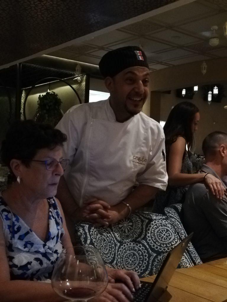 Creta's head chef