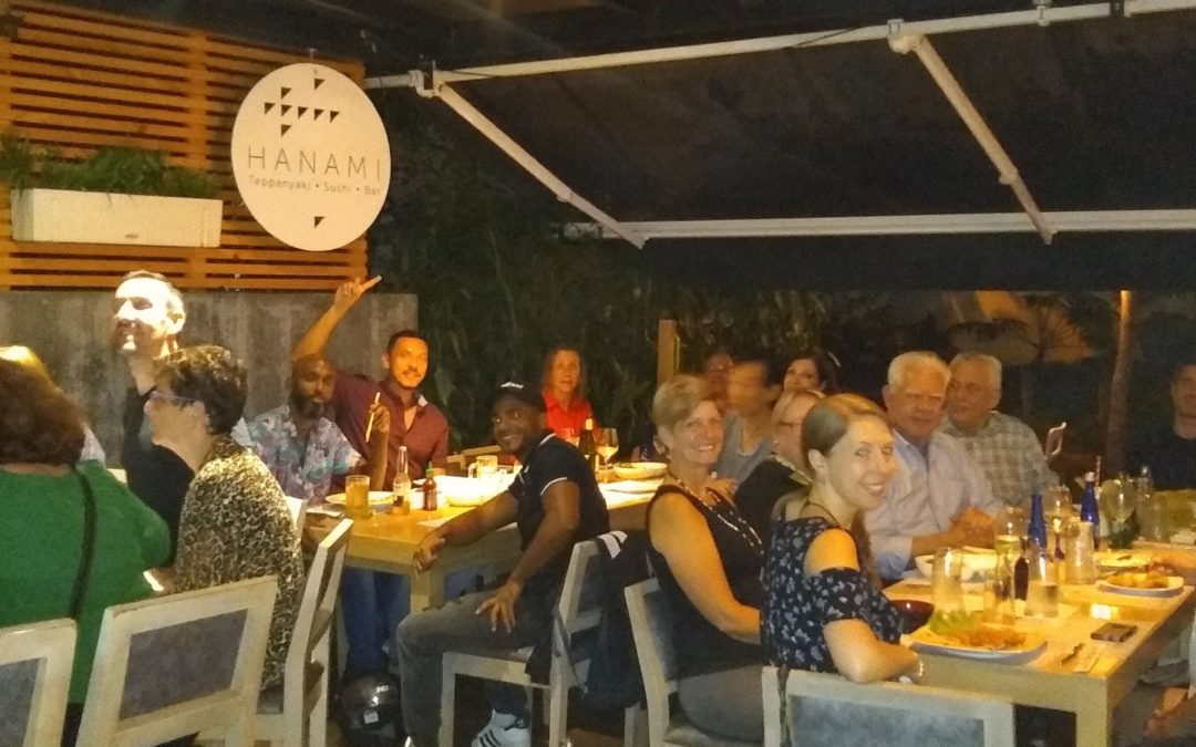 Restaurant review Hanami – Medellin Foodie Meet Up April 2019